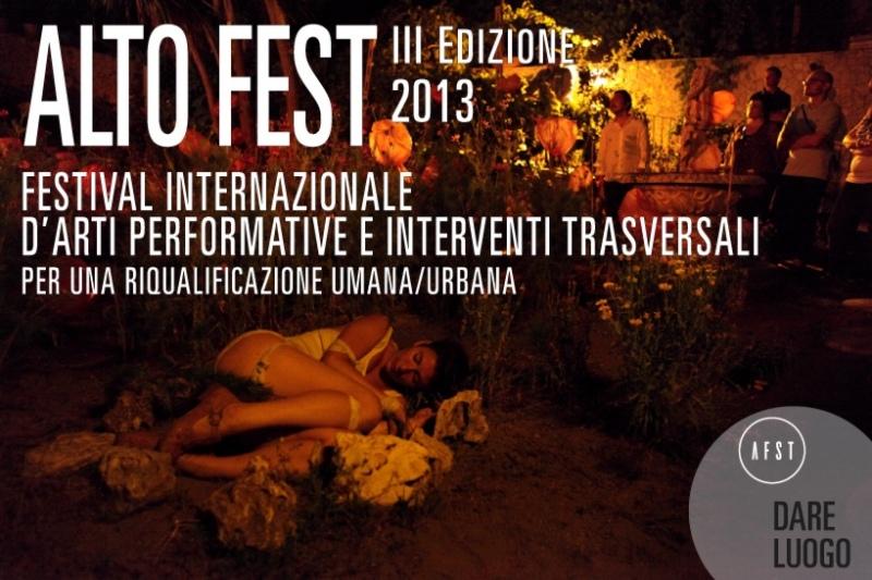 Alto Fest tra Napoli, Caserta e Benevento un festival che coinvolge i cittadini